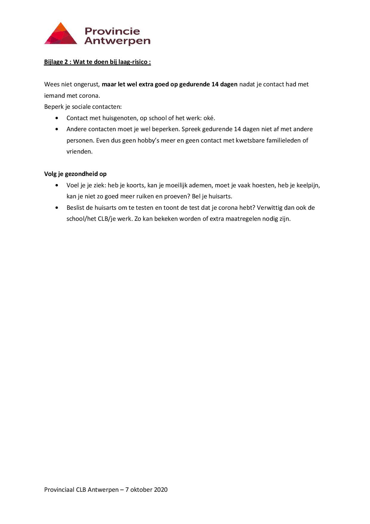Reizen en de te volgen procedure page 005